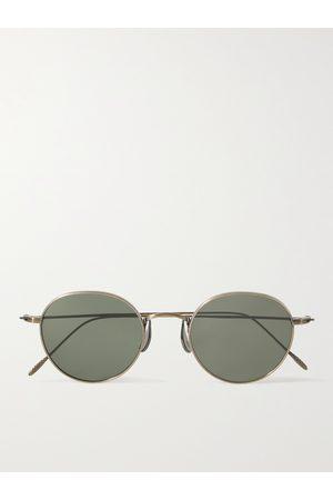 CUBITTS Morgan Round-Frame -Tone Sunglasses