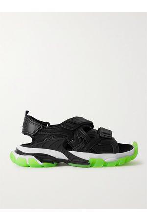 Balenciaga Track Neoprene and Rubber Sandals