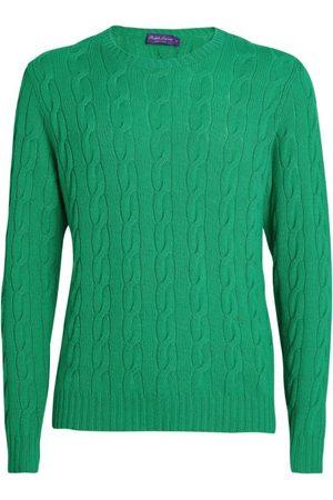 Ralph Lauren Men Jumpers - Cashmere Cable-Knit Sweater