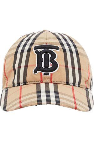 Burberry Vintage Check TB Monogram Baseball Cap