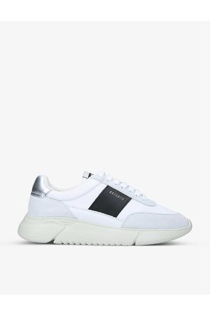 Axel Arigato Women Sports Shoes - Genesis Vintage Runner panelled recycled polyester and leather-blend trainers