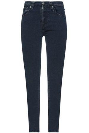 Nudie Jeans Women Trousers - DENIM - Denim trousers