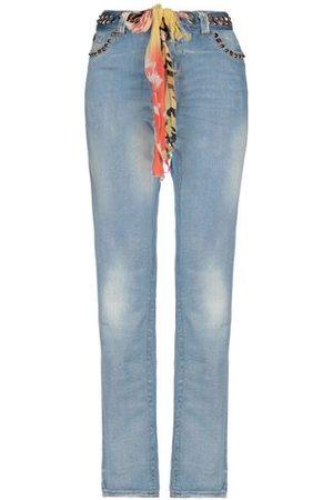 ANGELO MARANI Women Trousers - DENIM - Denim trousers