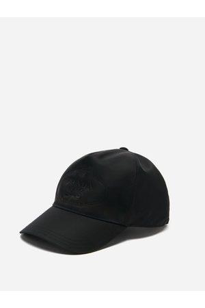 Prada Logo-embroidered Re-nylon Baseball Cap - Mens