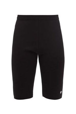 Prada Women Shorts - Triangle Logo-plaque Shorts - Womens