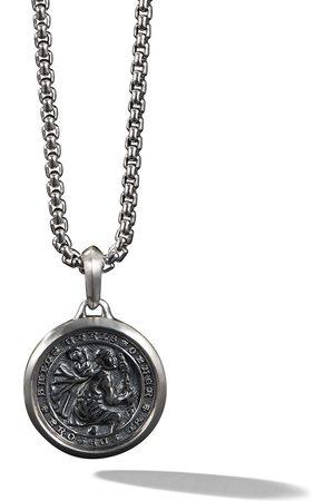 David Yurman Men Necklaces - St. Christopher amulet