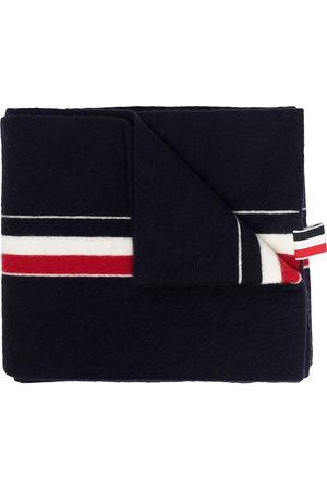 Thom Browne Men Scarves - RWB tri-stripe ribbon scarf