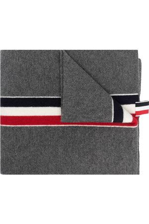 Thom Browne RWB stripe wool scarf