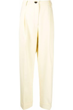 Ganni High-rise tailored trousers