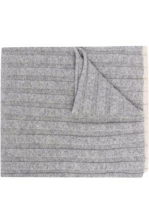 Brunello Cucinelli Ribbed-knit cashmere scarf