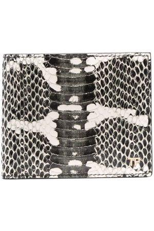 Tom Ford Men Purses & Wallets - Snakeskin-print wallet