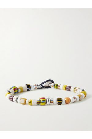Mikia Multi-Stone and Sterling Silver Beaded Bracelet