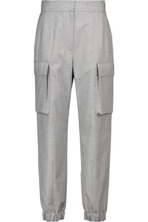 Brunello Cucinelli Wool flannel sweatpants