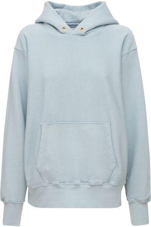 Les Tien Cropped Sweatshirt Hoodie