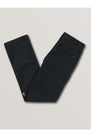 Volcom Boys Trousers - Men's Frickin Modern Stretch Chino Pant - DARK NAVY - (BOYS)