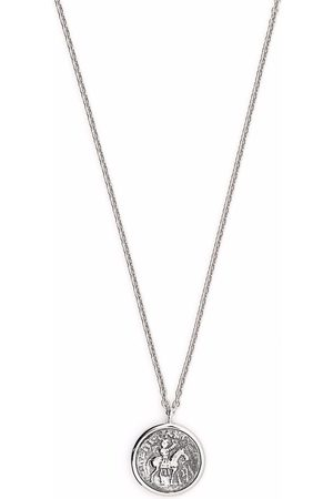TOM WOOD Coin pendant sterling necklace