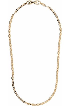 TOM WOOD Bean -plated sterling silver chain necklace