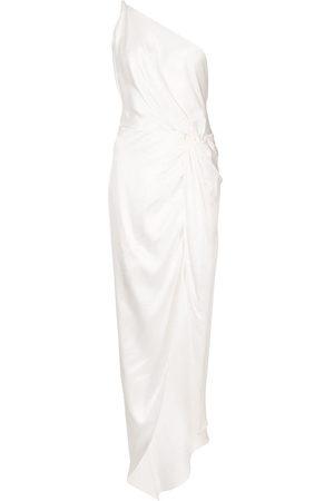 Michelle Mason Twist-knot silk gown