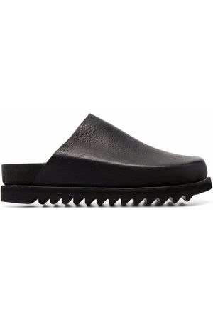 GUIDI Sandals - Leather slip-on sandals