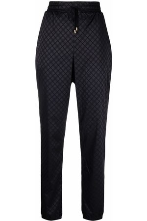 Wolford Women Trousers - Jyn checked track pants