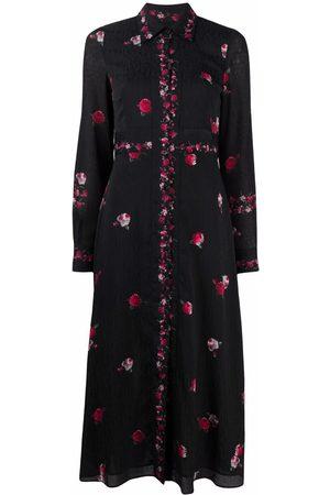 Pinko Women Printed Dresses - Floral-print shirt dress