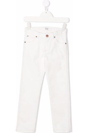 Bonpoint Straight-leg cotton jeans
