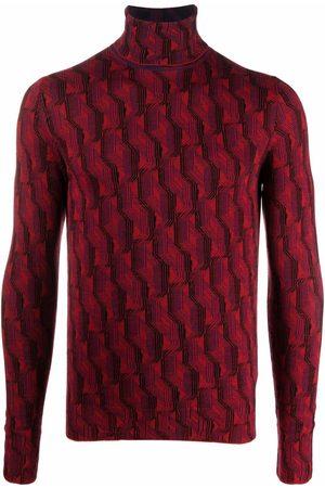Prada Jacquard high-neck jumper