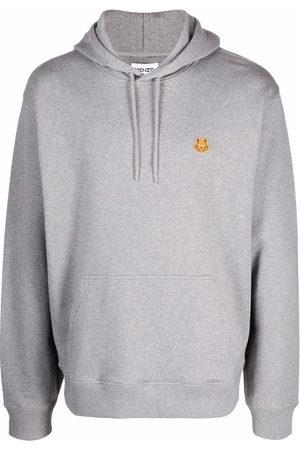 Kenzo Logo-patch hoodie