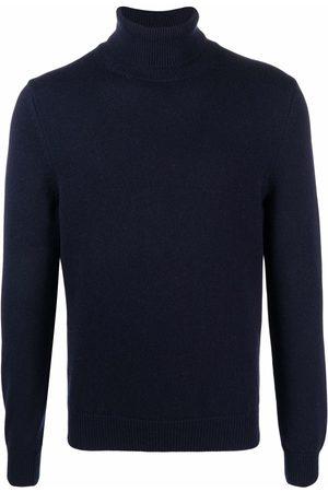 Malo Men Sweatshirts - Roll-neck cashmere jumper