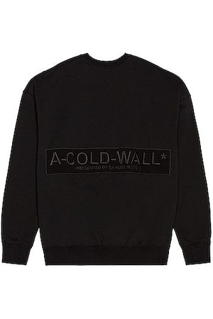 A-cold-wall* Logo Embroidery Crewneck in