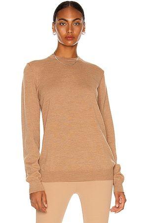 WARDROBE.NYC Sweater in Camel