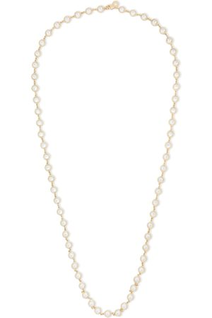 Kenneth Jay Lane Woman Silver-tone Crystal Necklace Size