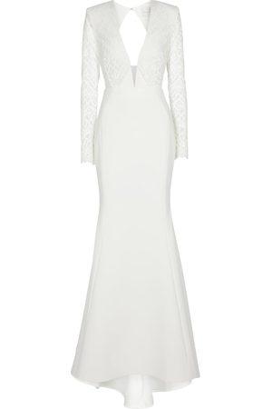Rebecca Vallance Bridal Harper crêpe gown