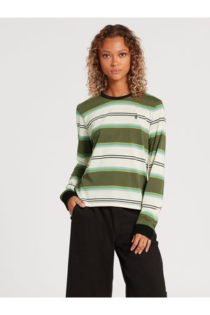 Volcom Long Sleeve - Choice is Yours T-shirt - Army Combo