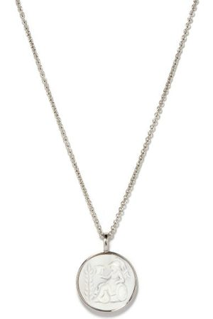 TOM WOOD Athena Cameo Sterling- Pendant Necklace - Mens