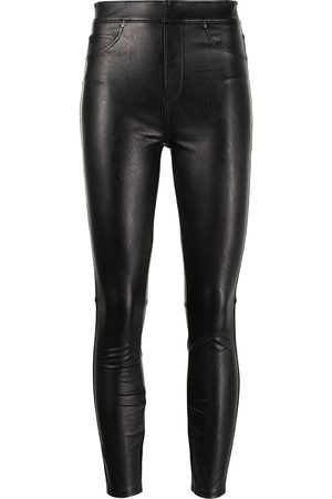 Spanx Women Leather Trousers - Like Leather high-rise skinny pants