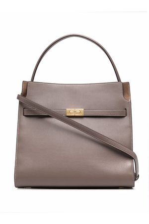Tory Burch Women Shopper & Tote Bags - Lee Radziwill double tote bag