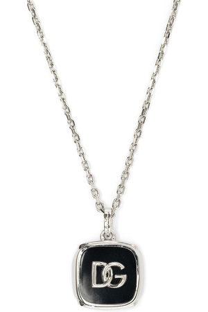 Dolce & Gabbana Men Necklaces - Logo-plaque chain-link necklace