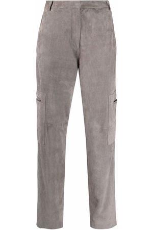 Fabiana Filippi Slim-cut cargo pocket trousers