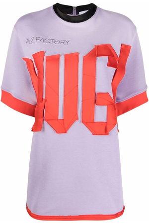 AZ FACTORY Women Short Sleeve - Hug-detail boxy T-shirt