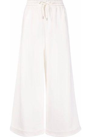 AZ FACTORY Women Trousers - Organic-cotton wide track pants