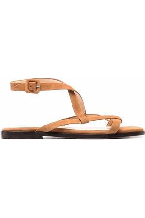 Tila March Women Sandals - Origami strappy sandals - Neutrals