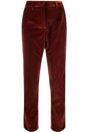 ETRO Women Skinny Trousers - Cropped slim-fit trousers