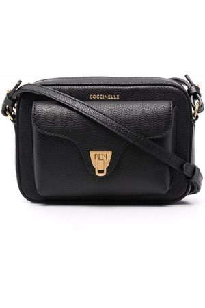 Coccinelle Pebbled-effect crossbody bag