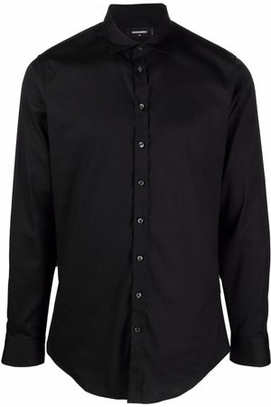 Dsquared2 Long-sleeve stretch-cotton shirt