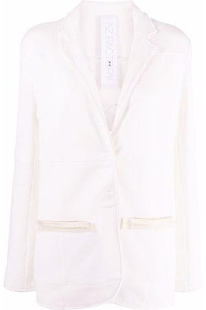 AZ FACTORY Free To Love appliqué blazer