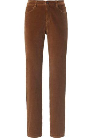 Brax Women Trousers - Feminine fit velvet trousers design Carola size: 10s