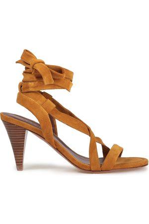 Bash Women Sandals - Woman Suede Sandals Camel Size 36