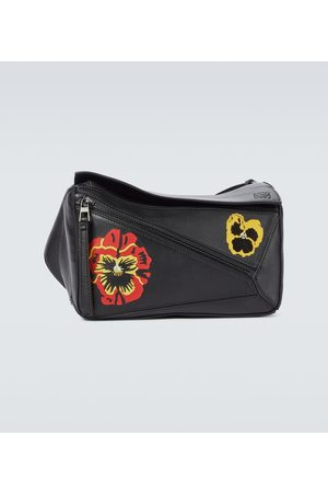 Loewe Small Puzzle Pansy belt bag
