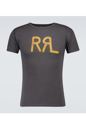 RRL Logo short-sleeved cotton T-shirt